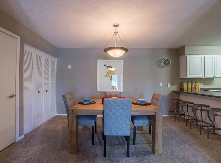 Dining Area and Kitchen at Gramercy, Carmel, IN, 46032