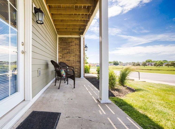 Large Personal Patio at Gramercy, Indiana