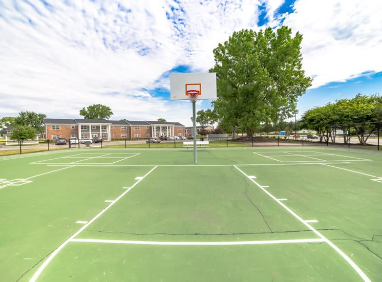 Outdoor Basketball Court at Gramercy, Indiana, 46032