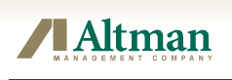 Altman Management Company II, Inc. Logo 1