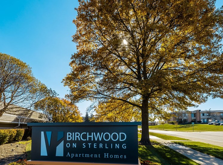birchwood signage