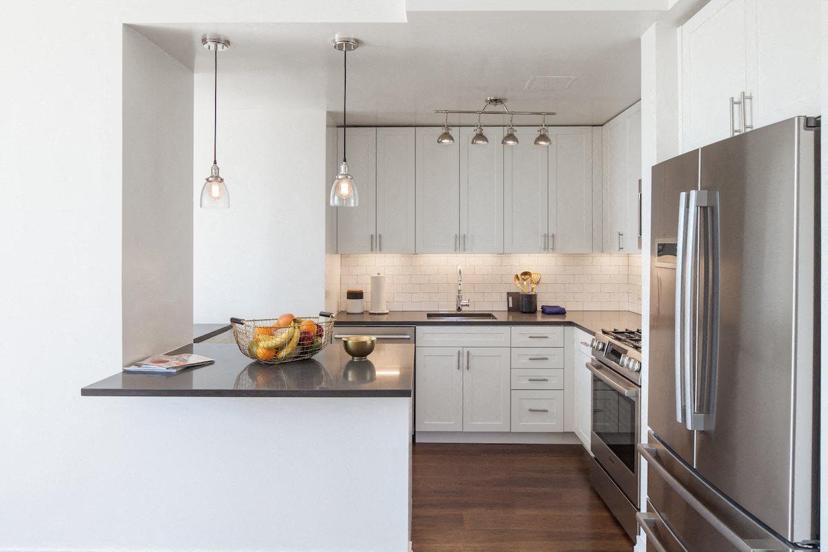 Renovated, gourmet kitchens