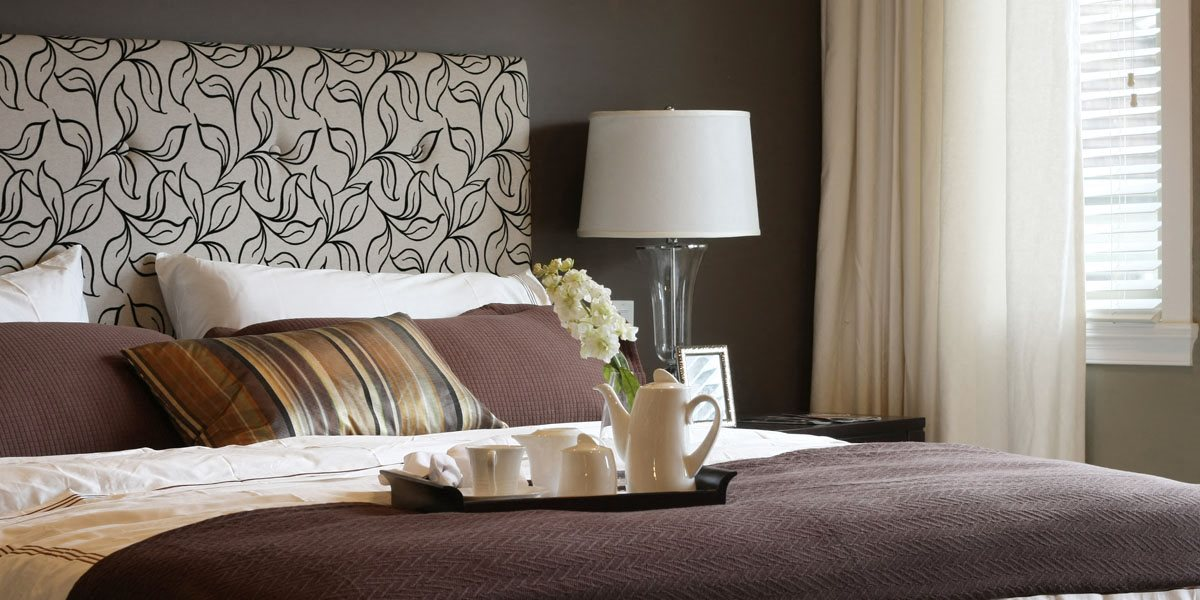 Stock image- bed