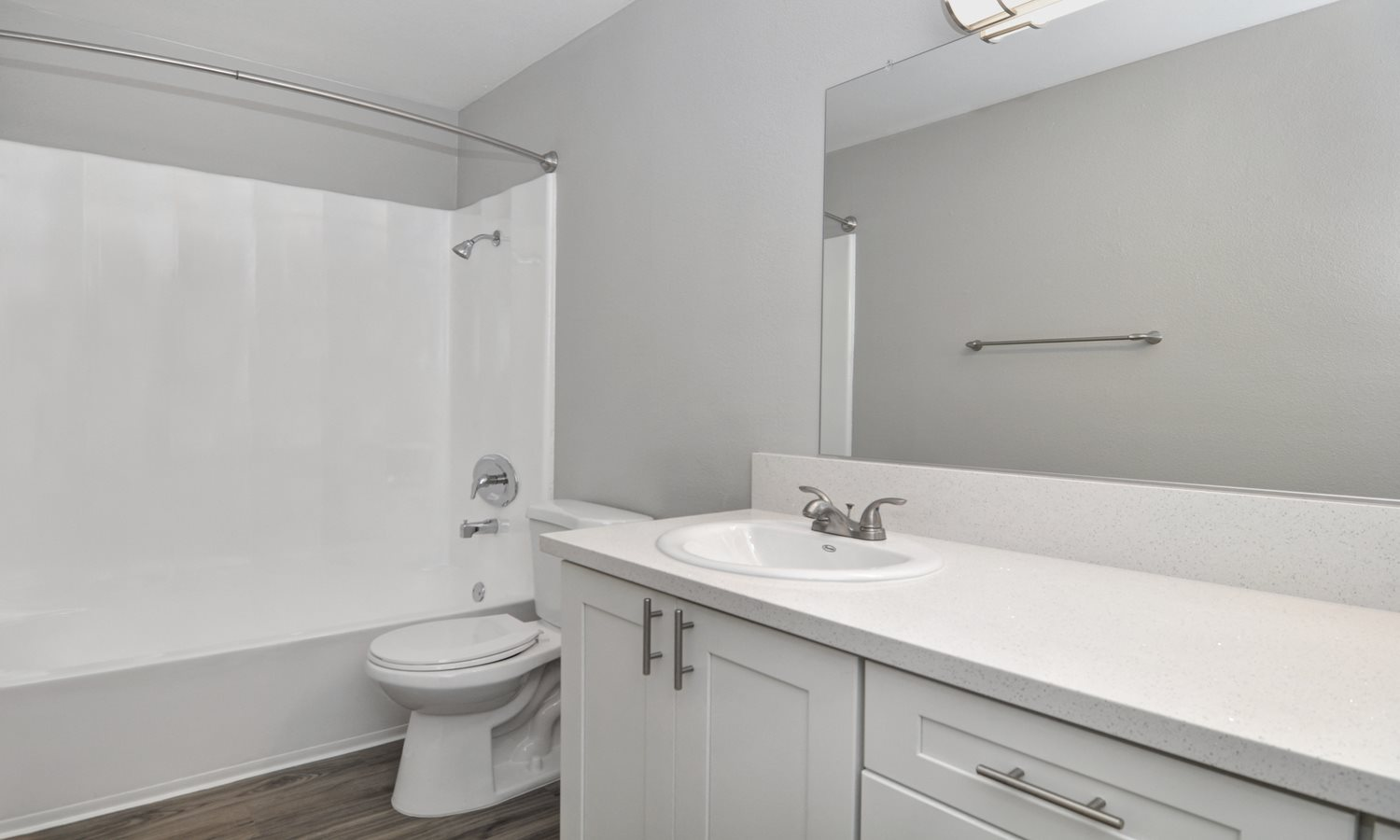 White cabinets-bathroom