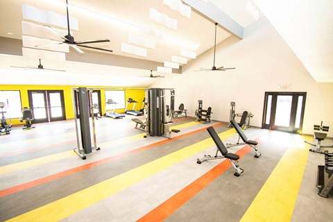 Aya Fitness center with weight machines