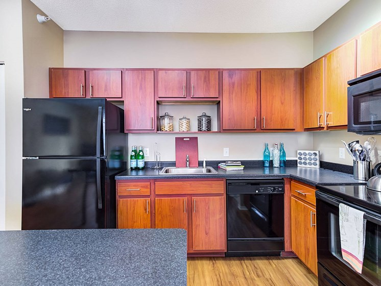 refrigerator with dishwasher