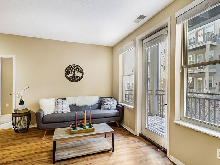 spacious living room spaces