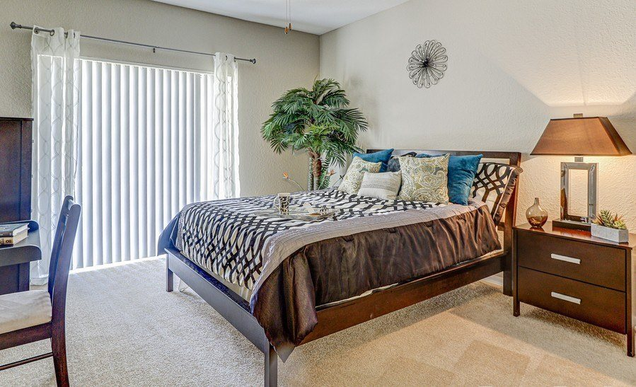 Bedroom With Plenty Of Natural Lights at Plantation Gardens Apartments, Florida, 33782