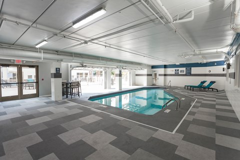 interior pool wide view