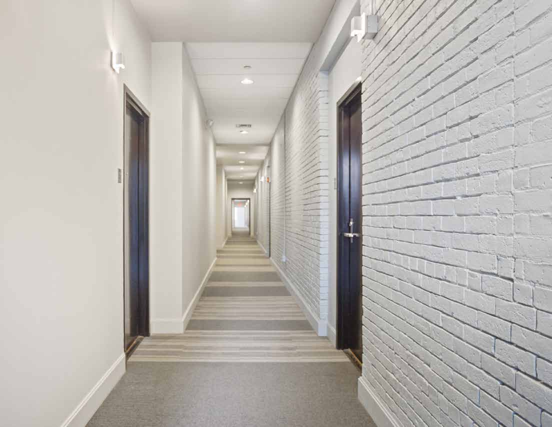 common area hallway