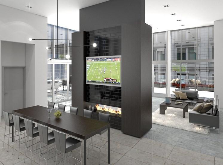 rendering-Wifi lounge
