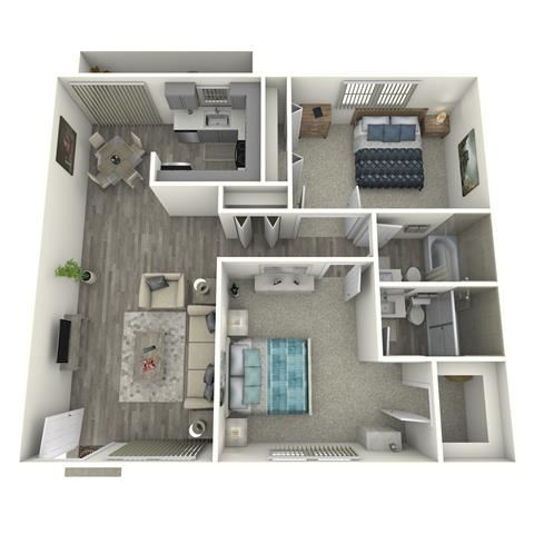 2x2 SMALL RENOVATED
