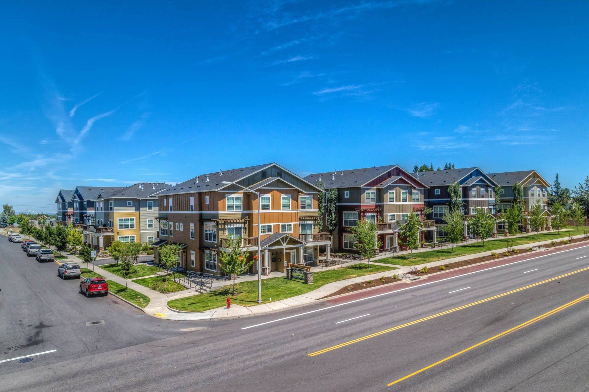 Bend Apartments for Rent - Beautiful Exterior Shot of Our Apartment Community