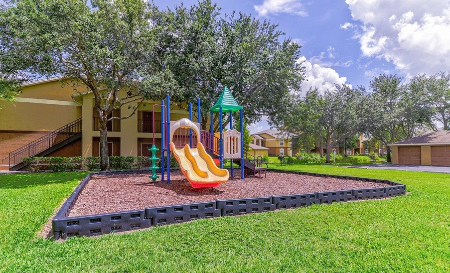 Playing Area at Plantation Gardens Apartments, Pinellas Park, Florida