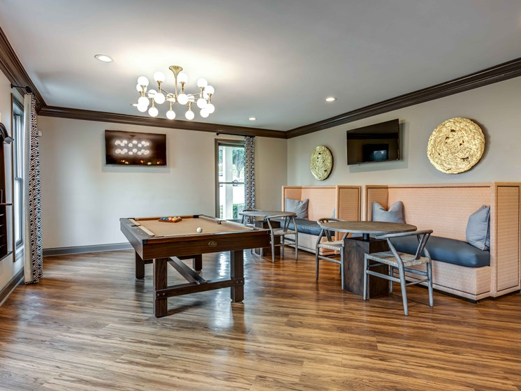 Game Room at Smoky Crossing Apartments, Seymour, Tennessee
