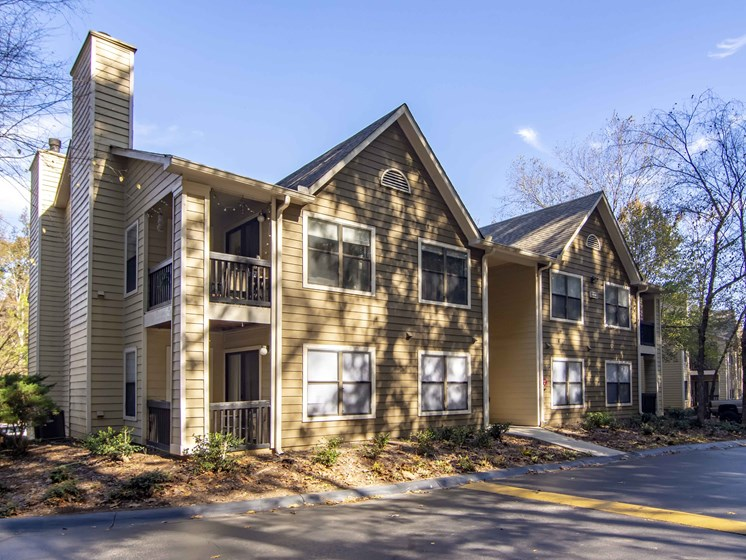 Private Patios and Balconies at Brook Valley Apartments, Douglasville, GA, 30135