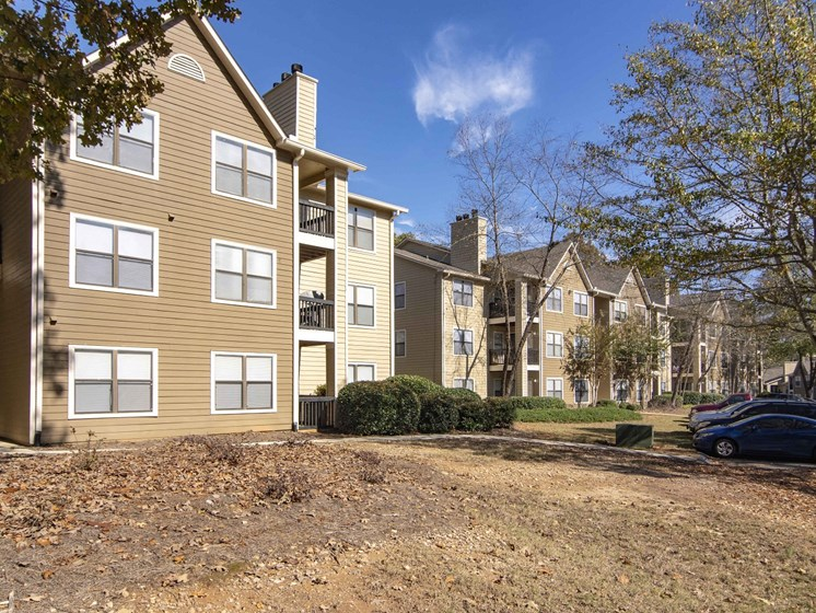 exterior of building, 3 story at Brook Valley Apartments, Douglasville, Georgia