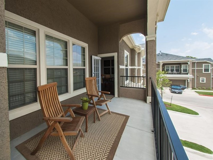 Private Patios Or Balcony at Parc Woodland, Texas