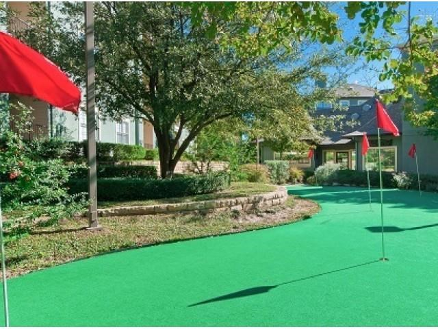 Putting Green at The Gio, Plano, 75074
