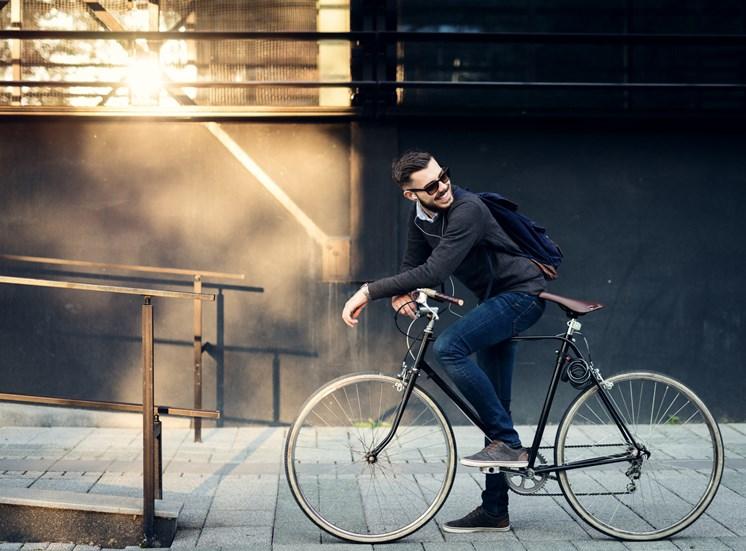 stock image-biking