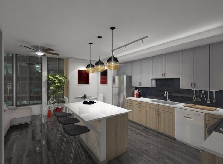 rendering-kitchen backsplash-tile
