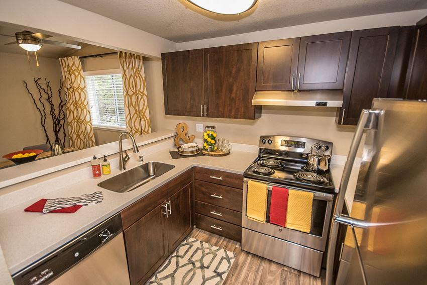 Spacious Kitchen at The Fairways Apartments, Tacoma, WA,98422