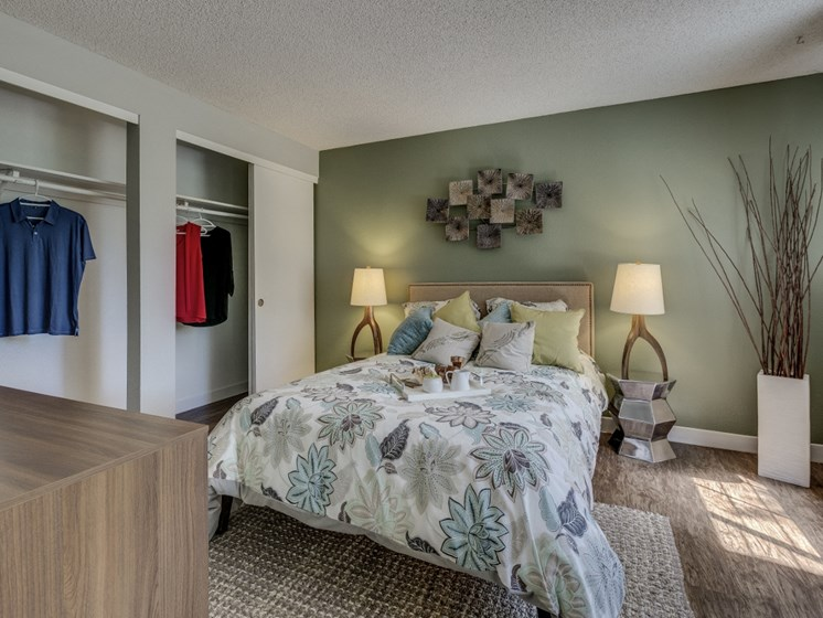 Private Master Bedroom With Extra Storage at Cedar Crest, Beaverton, Oregon