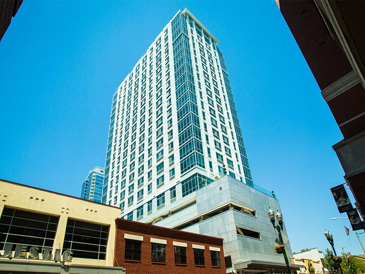 Stamford's tallest apartment building