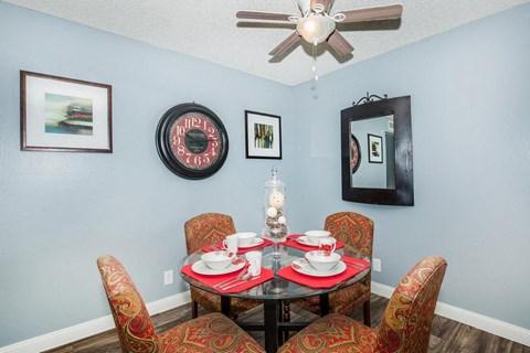 dining area ceiling fan