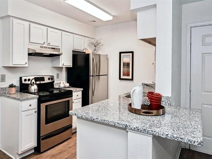 new kitchen in Moline IL apartments