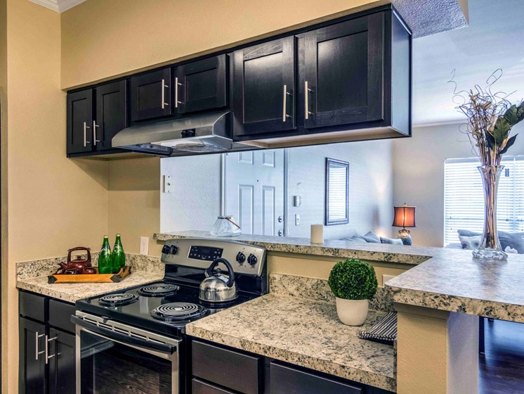 Apartments in Longview, TX kitchen