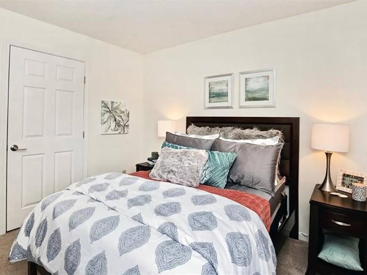 bedrooms in Village Woods Apartments