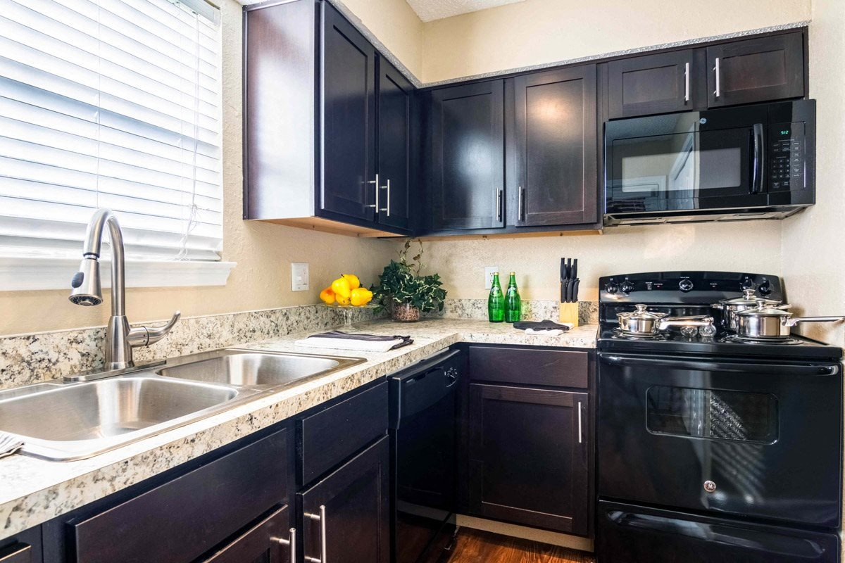 Upgraded Kitchens at Summer Green Apartments in Longview, TX