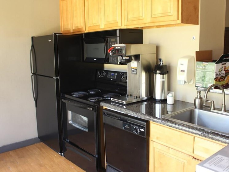 Fully-Equipped Kitchen