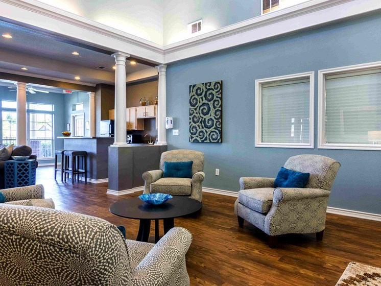 Apartments in Longview, TX community room