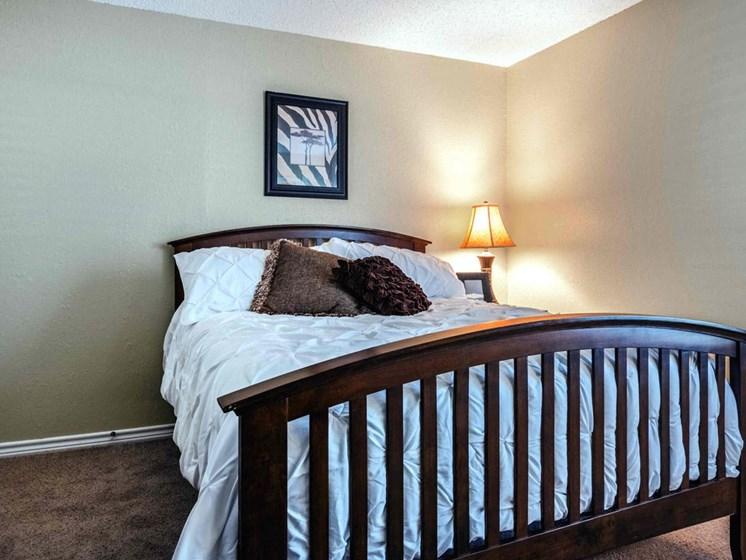 Apartments in Longview, TX bedroom