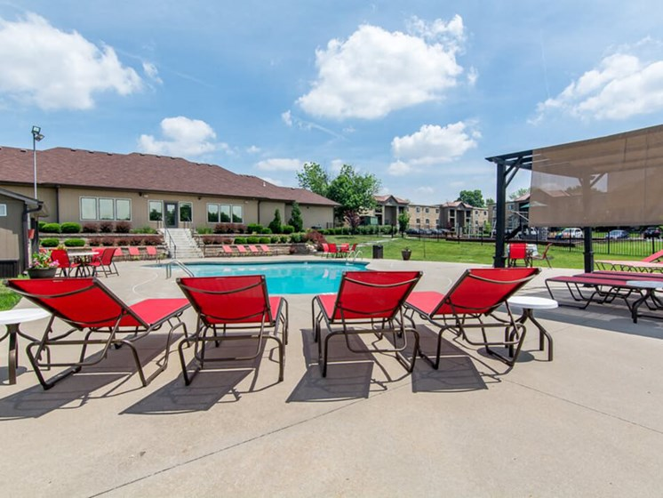 sundeck at The Hills Apartments