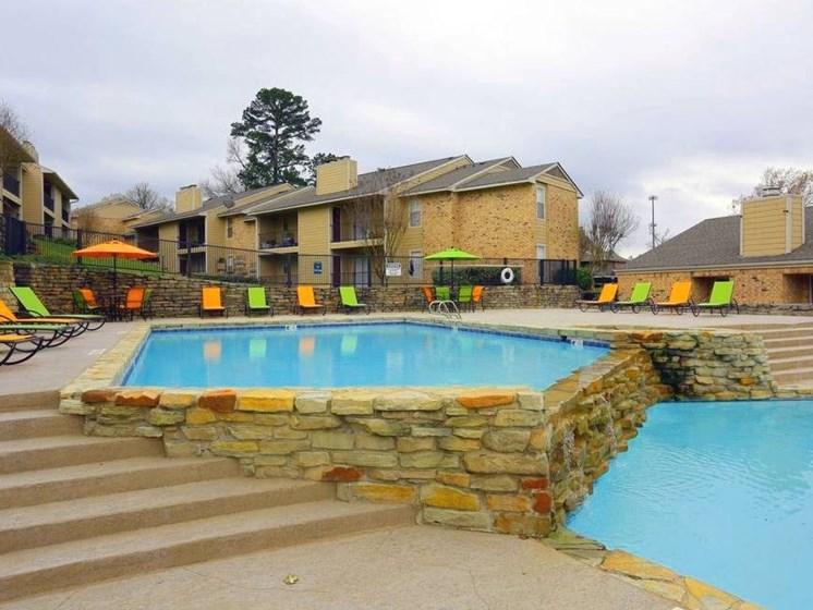 Apartments in Longview, TX pool