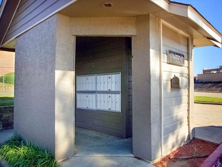Apartments in Longview, TX mailbox