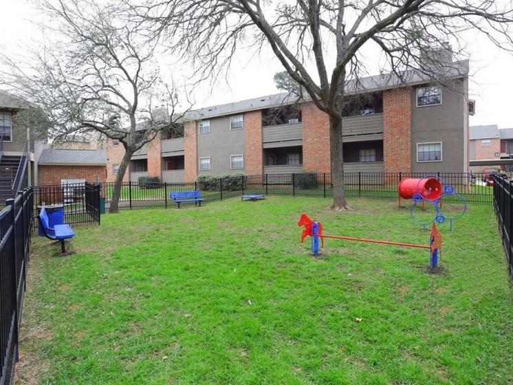 Apartments in Longview, TX dog park
