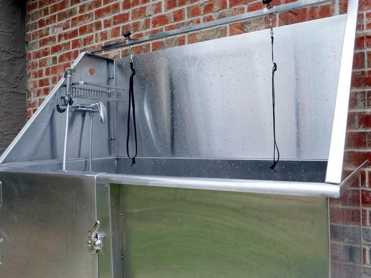 Apartments in Longview, TX dog wash