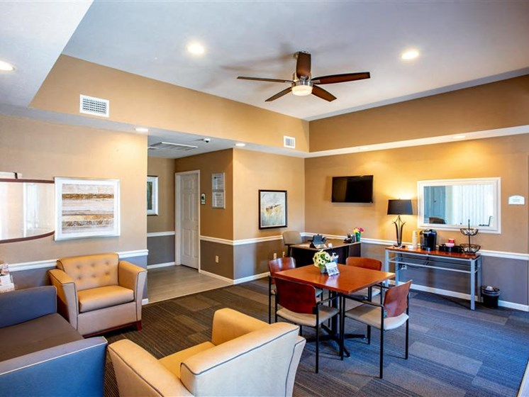 Leasing Office at Village Woods Apartments in Milan, IL