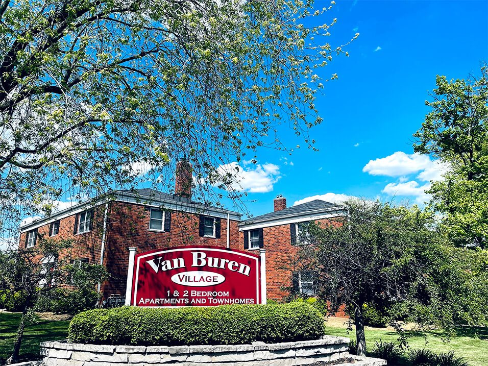 Van Buren Village apartments in Kettering, OH