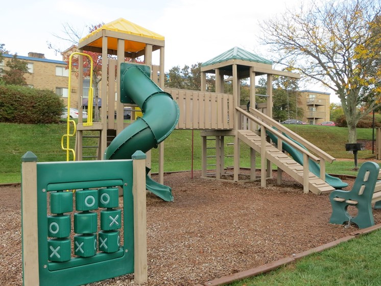 community playground at Waterstone Apartments