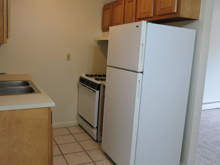 kitchen at Waterstone Place Apartments