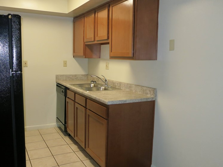 kitchen cabinets and counter space