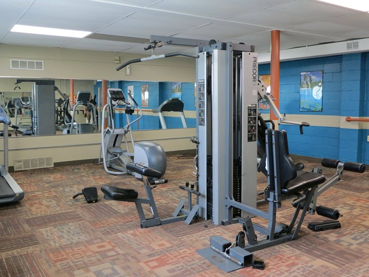 fitness center at Waterstone Place