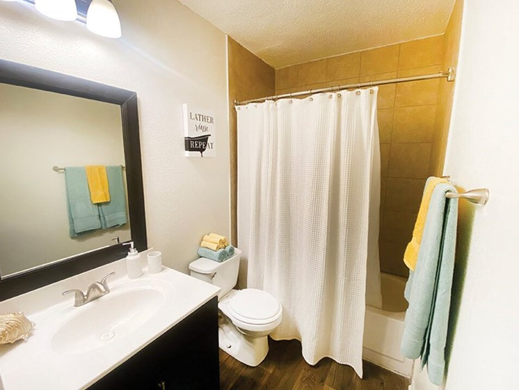 large bathrooms at a Wilmington NC apartment
