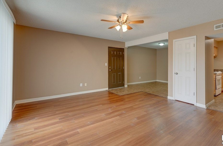Hardwood Flooring at Eastgate Apartments in Wichita, KS