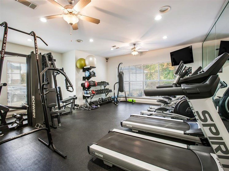 fitness center at apartments in fayetteville nc